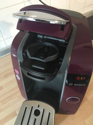 Tassimo Joy T43 Passion Purple Kaffeemaschine Pad Maschine, 40 € VB