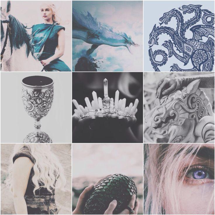 Daenerys Targaryen aesthetics
