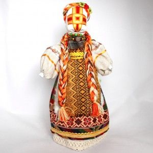 Ukrainian Motanka Folk Costume Reeled Doll 65002-1