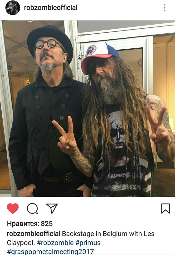 Rob Zombie and Les Claypool