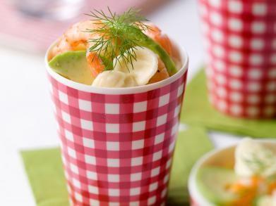 Pastasalade met garnalen en avocado (Libelle Lekker!)