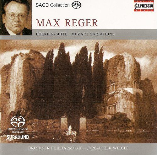 Dresden Philharmonic Orchestra - Reger: Variations and Fugue on a Theme of Mozart/4 Tondichtungen Nach Arnold Bocklin