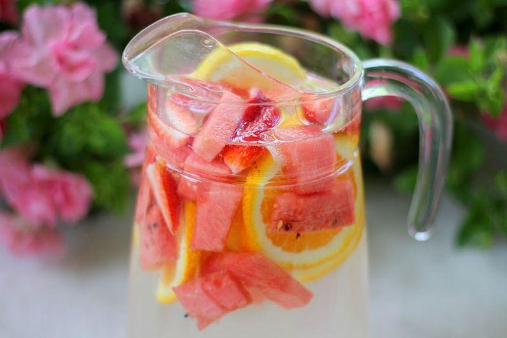 Terveellinen detox vesi ohje