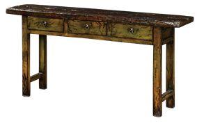 Wooden Console Table - Poppy's Home & Garden