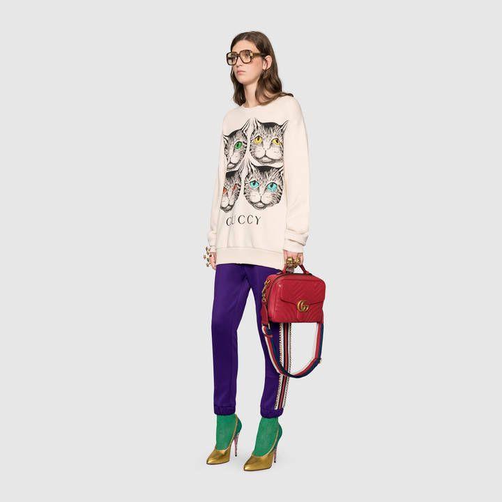 c30b60d1d53 Gucci GG Marmont matelassé shoulder bag Detail 9