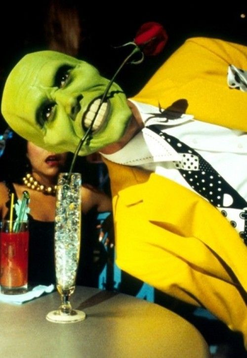 """The Mask/Stanley Ipkiss played by Jim Carrey in """"The Mask"""""""