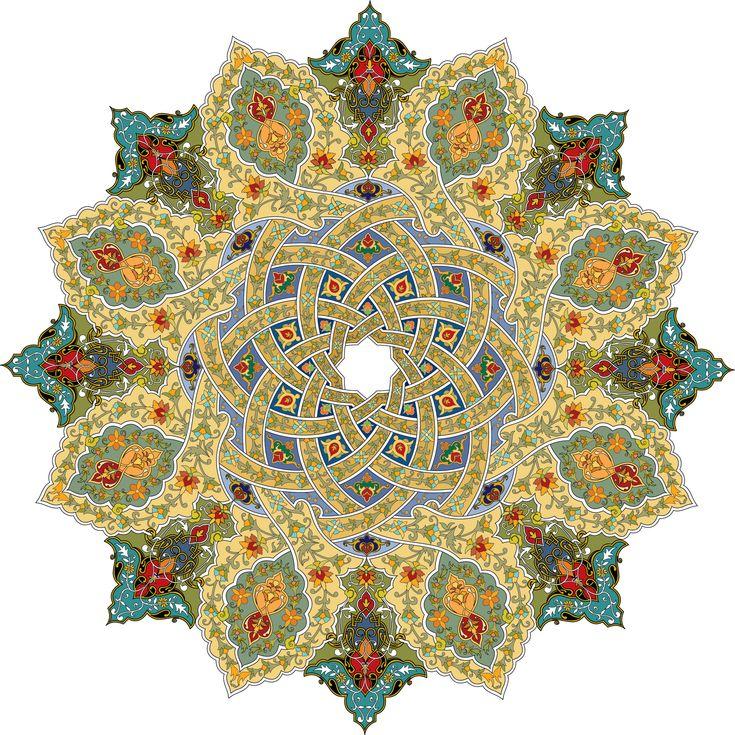 36-Floral Pattern (Khatai)