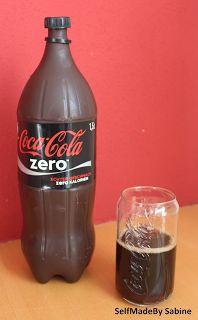 SelfMadeby Sabine: ... ein etwas anderes Cola, Coke Bottle Cake