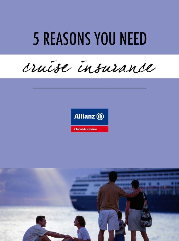 5 reasons you need cruise insurance
