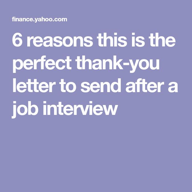 Best 25 Interview thank you letter ideas on Pinterest