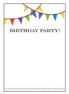 Birthday Party Invitation Template to inspire you in making amazing party invitation wording 961