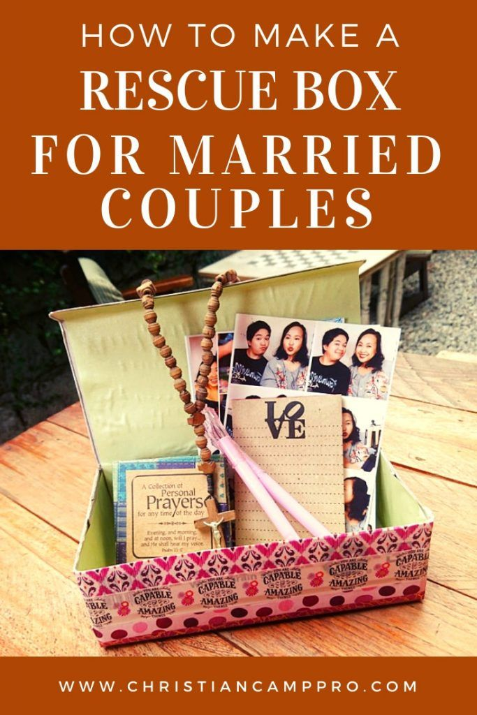 Diy Rescue Box Craft For Married Couples Marriage Retreats Marriage Box Couples Retreats