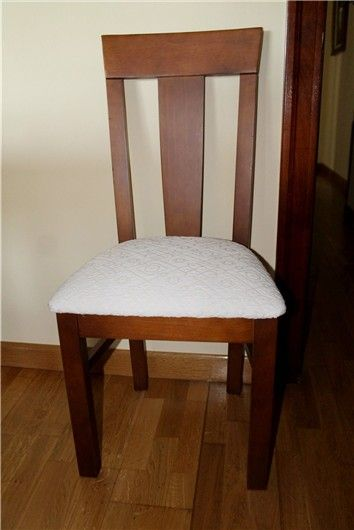 Aprende a tapizar sillas de comedor http://www.mujerhoy.com/blogs/custom-lab/aprende-tapizar-sillas-comedor-do-it-yourself-727132052013.html