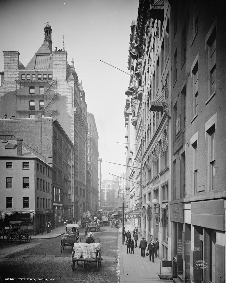 Look at State Street in Boston Back in 1905 | Cool Old Photos