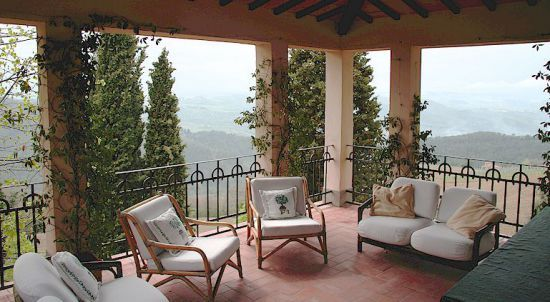 """""""Casa Lamole"""" vacation villa in Tuscany, Italy - views don't come much better than this! http://www.casalamole.com"""