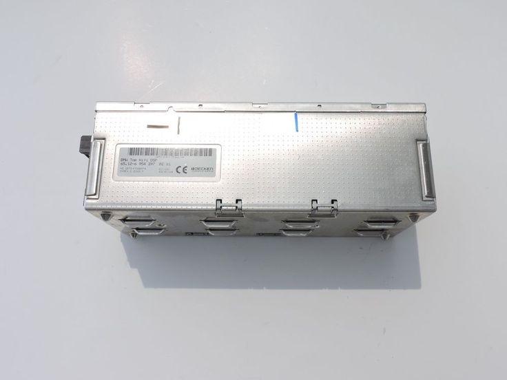 02-08 BMW E65 E66 Amplifier 65.12-6 954 397 Top Hifi DSP Radio Logic 7 Series #BMWOEMBECKERE65E66