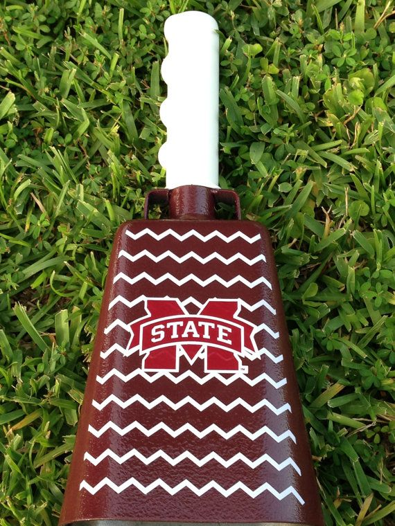 Mississippi State University cowbell by SoStephanieDesigns on Etsy, $45.00