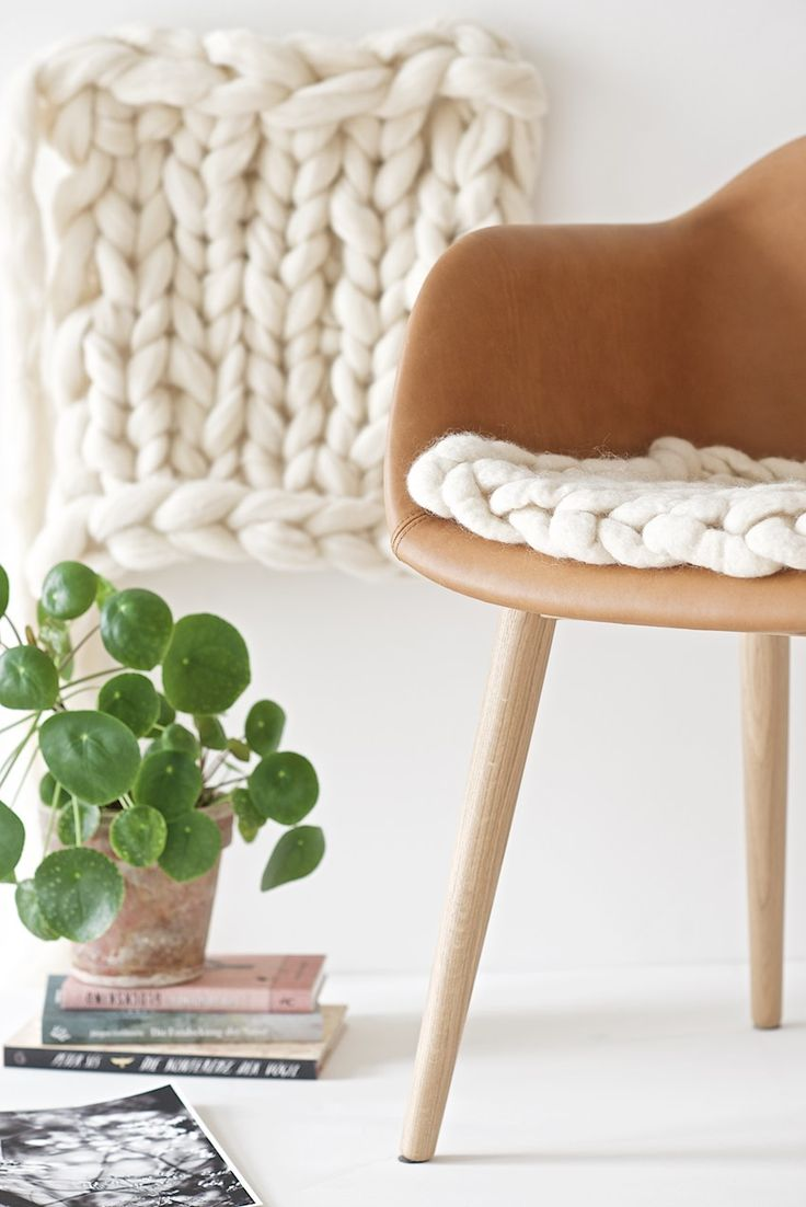 DIY Inspiration: Mid-Century Shell Chair Updates & Upgrades
