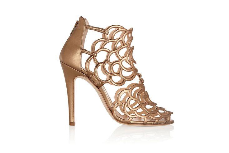 Zapatos para novias Óscar de la Renta