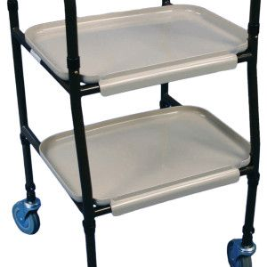 Height Adjustable Strolley Trolley  €77.98  The ideal trolley for transferring meals safely around the home. The 'Strolley Trolley' is heigh...