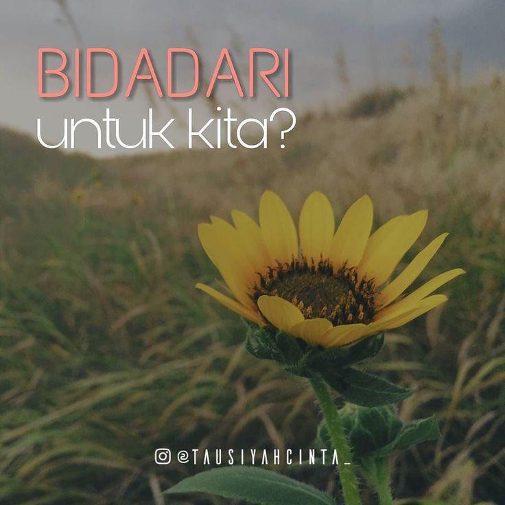 ":. Bidadari untuk kita?  Umar bin Khattab pernah dijanjikan mendapatkan bidadari dari Allah SWT khusus untuknya di Surga. Rasul pernah melihat seorang bidadari yang lain dari bidadari yang lain. Bidadari kebanyakan berkulit putih nan cantik. Sedangkan bidadari yang dilihat oleh Rasulullah itu berkulit hitam manis dan sangat pemalu. Seketika Rasul bertanya kepada Malaikat Jibril Bidadari siapakah itu? lalu Jibril menjawab ""Bidadari itu adalah diperuntukkan bagi sahabatmu Umar r.a."" .  Rupanya…"