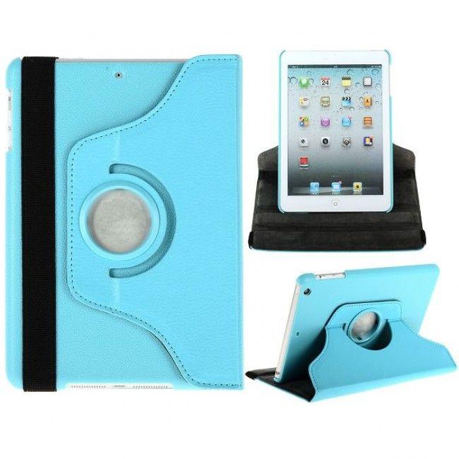 Säädettävä iPad Mini Nahkakotelo - Standillä (Sininen) - http://lux-case.fi/saadettava-ipad-mini-nahkakotelo-standilla-sininen.html