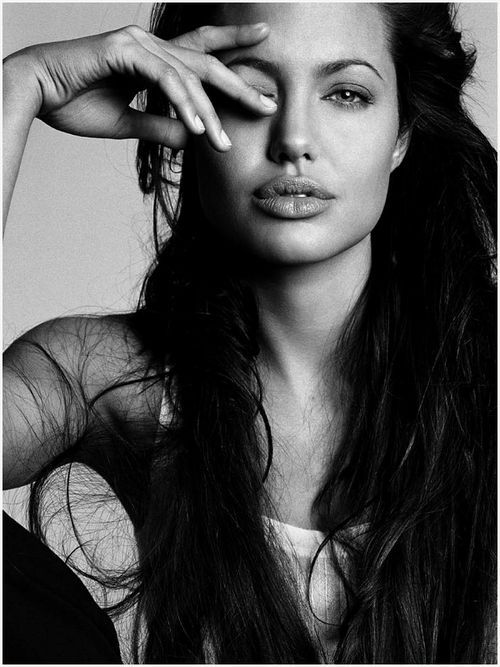 Angelina Jolie. Such a beautiful woman.                                                                                                                                                                                 More