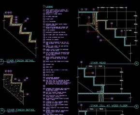 ★【Stair Details】★-CAD Library | AutoCAD Blocks | AutoCAD Symbols | CAD Drawings | Architecture Details│Landscape Details