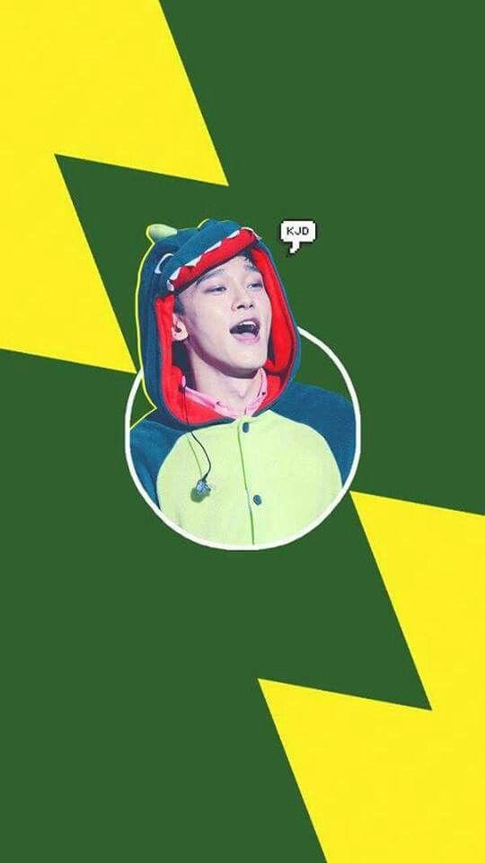 Chen Wallpaper | EXO #Chen #Jongdae #EXO # Dinosaur