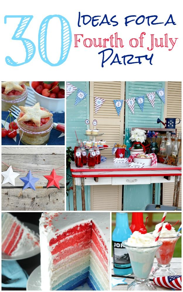 ideas for 4th of july decorating
