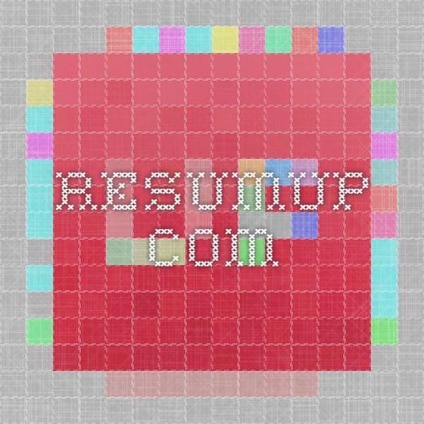 49 best Resume Writing Service images on Pinterest Resume - health trainer sample resume