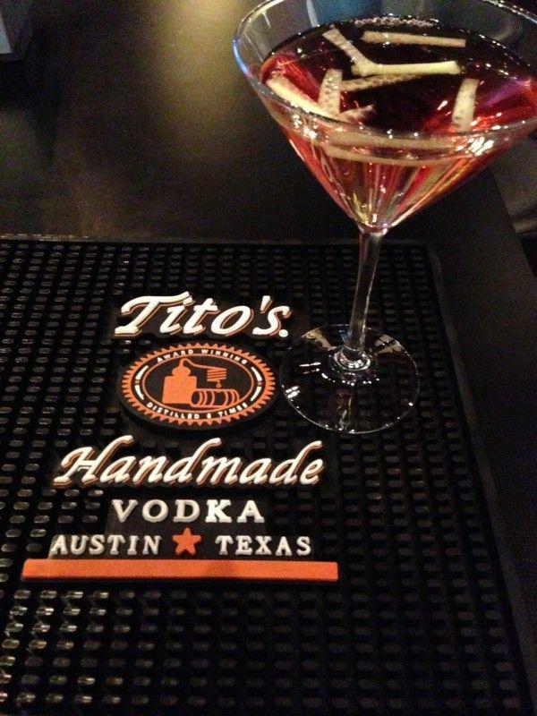 Cucumber Cosmo - Tito's Handmade Vodka