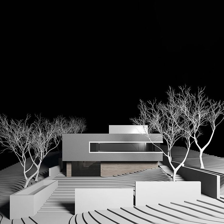 Model image of the Studley Avenue Residence in Kew by B.E Architecture which is currently in construction