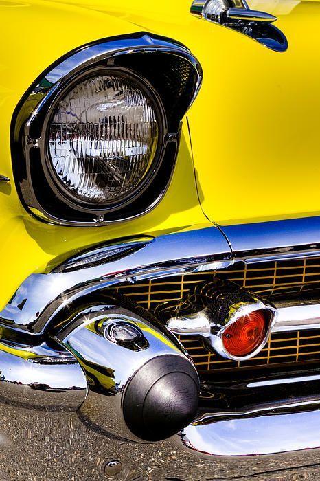 1957 Chevrolet Bel Air ♫♫♫♫♫ JpM ENTERTAINMENT ♫♫♫♫♫ - Yellow Car