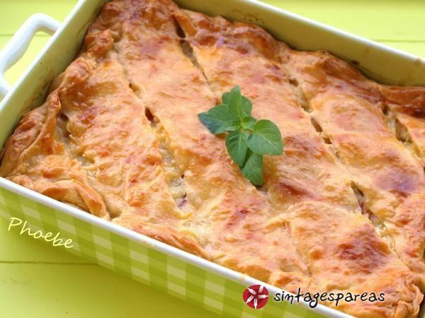 Πίτα με πατάτες, μπέικον και τυρί #sintagespareas