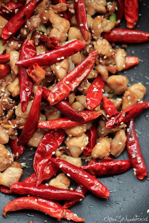 Authentic Szechuan Chicken—Mala Chicken