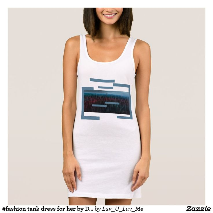 #fashion tank dress for her by DAL