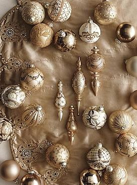 Your Christmas tree will shimmer this year when you adorn it with the stunning 60-pc. Shades of Gold Ornament Collection.