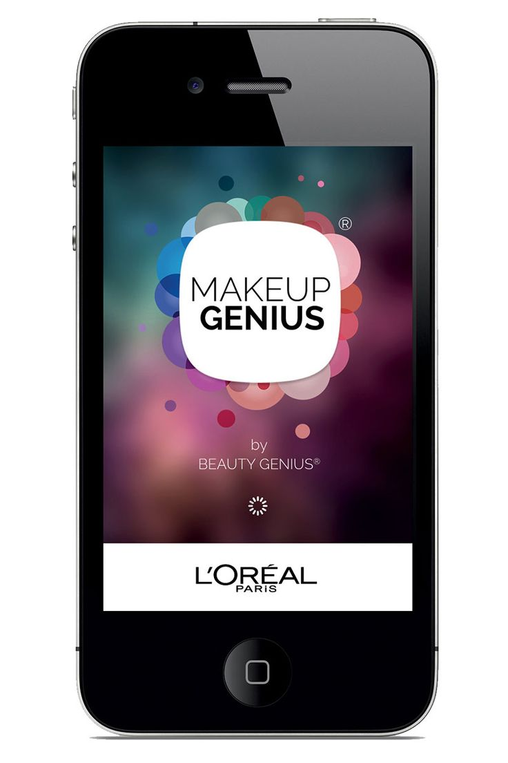 L'OREAL'S MAKEUP GENIUS, allows you to try stuff on in real time using your iPhone