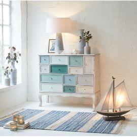 Der Schubladenschrank Tiffi Bringt Maritimes Flair Ins Haus. Im Used Look  Gearbeitet Ist Jede Kommode Ein Unikat. Die Lieferung Erfolgt Komplett  Montiert.