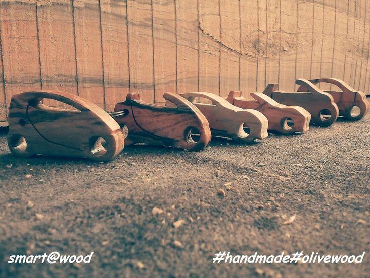 **** Handmade  Wooden Keyring - Smartawood  Smart Car KeyChain BRABUS **** #smartwood