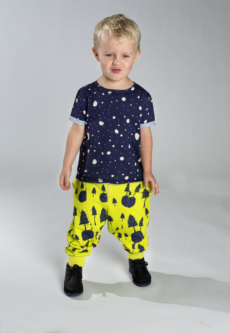 Snowflake Tee, Forest Pant www.koolabah.com