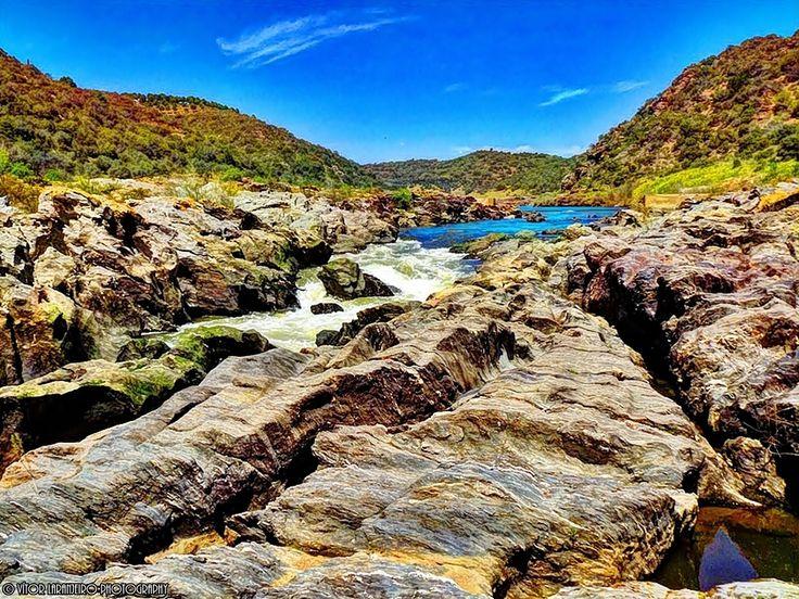 Cascata do Pulo do Lobo no Rio Guadiana Alentejo Portugal by Vítor Laranjeiro on 500px