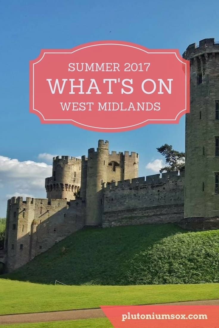 West Midlands | Summer holiday 2017. If you will be in the West Midlands during the school summer holidays this year, this is a list of all the family friendly events and activities that are taking place. From holiday clubs to days out to music festivals,