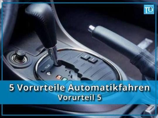 Vorurteil 5 - Automatikfahren ist eine Frage der Kultur: richtig In Nordamerika sind Autos mit manueller Schaltung fast eine Rarität. Die Neuwagenquote mit Schaltknüppel lag dort 2014 bei gerade mal 7,8 Prozent. Zum Vergleich: In Europa verfügen 68,1 Prozent der Neuzulassungen über ein manuelles Schaltgetriebe.  Die DAT (Deutsche Automobil Treuhand) rechnet damit, dass sich in Deutschland Automatik- und Schaltgetriebe schon in 20 Jahren die Waage halten werden. Als kostengünstige Lösung im…