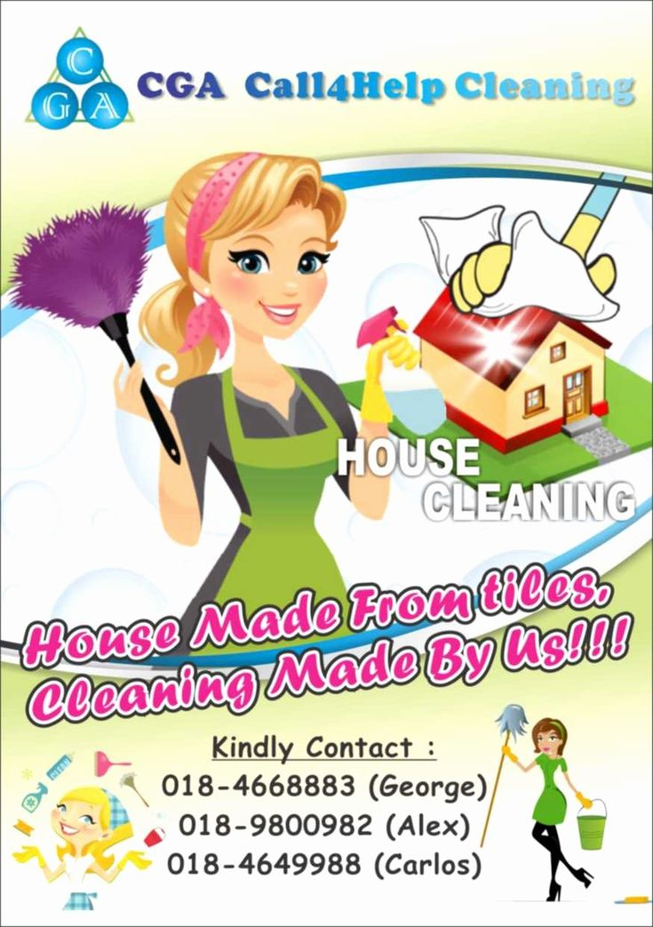 Cleaning pictures for flyers unique home cleaning flyers