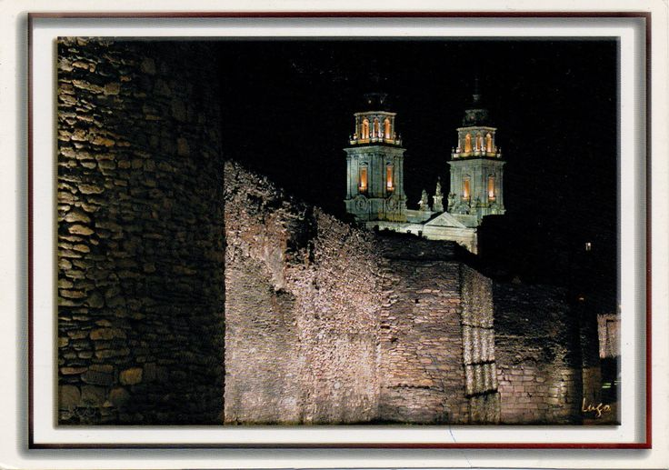 Swap -  Arrived: 2016.10.05   ---    Roman wall of Lugo and the Cathedral, Lugo, Lugo province, northwestern Spain