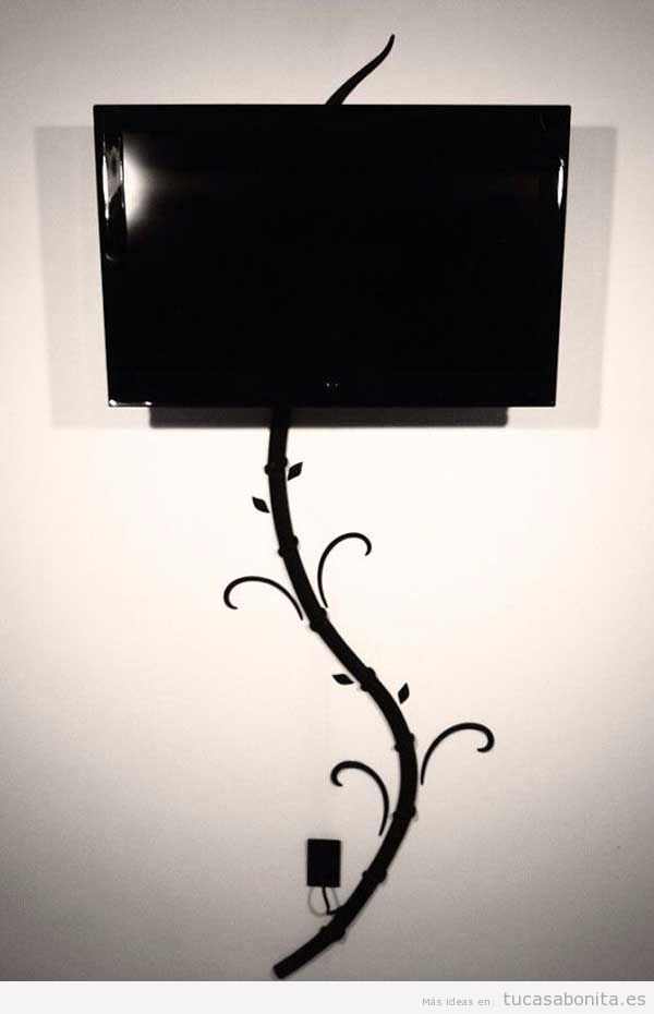 25 best ideas about ocultar cables de tv on pinterest - La tele en casa ...