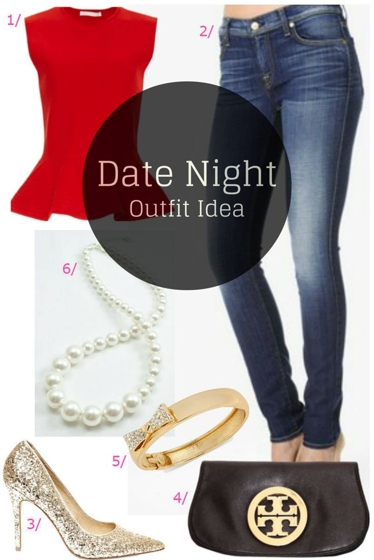 Date Night Style / Valentines Dinner Date Outfit / preppy Outfit Idea / click for outfit details...