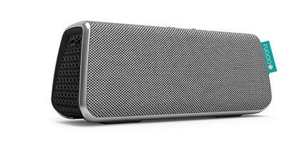 Is it a chic clutch, or the best portable wireless speaker available? Introducing FUGOO Style - a durable, stylish bluetooth speaker featuring a 40 hour battery life for the endless nights. With speakerphone, Siri and Google Now support along with a sleek, elegant jacket, FUGOO Style is the perfect combination of beauty and brains.